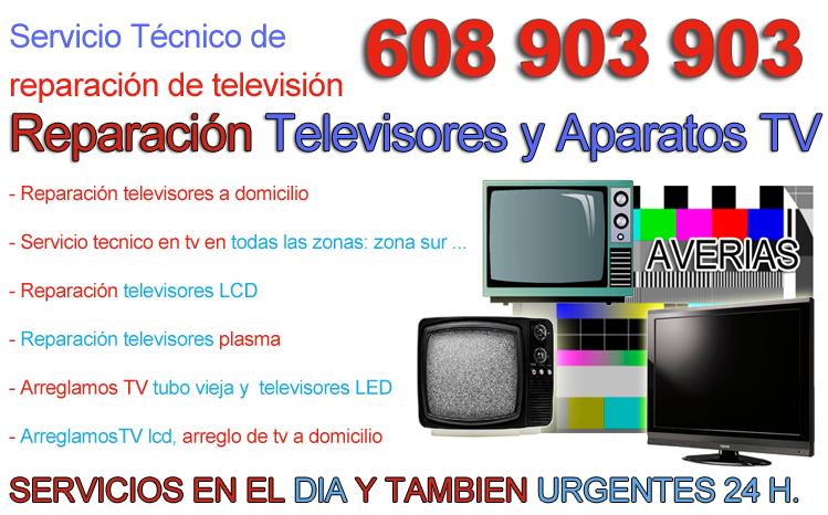Servicio tecnico de televisiones reparacion de televisores - Reparacion electronica valencia ...